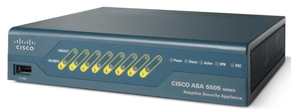Cisco ASA 5505 Appliance with SW