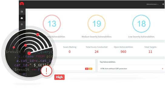 Acunetix Vulnerability Scanner Корпоративний (5 Targets)